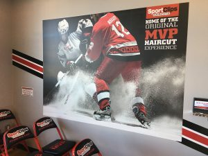 custom indoor wall vinyl