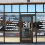 Port Credit Window Graphics Copy of Chiropractic Office Window Decals 150x150